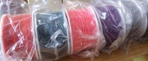 Plastic Spools in mail